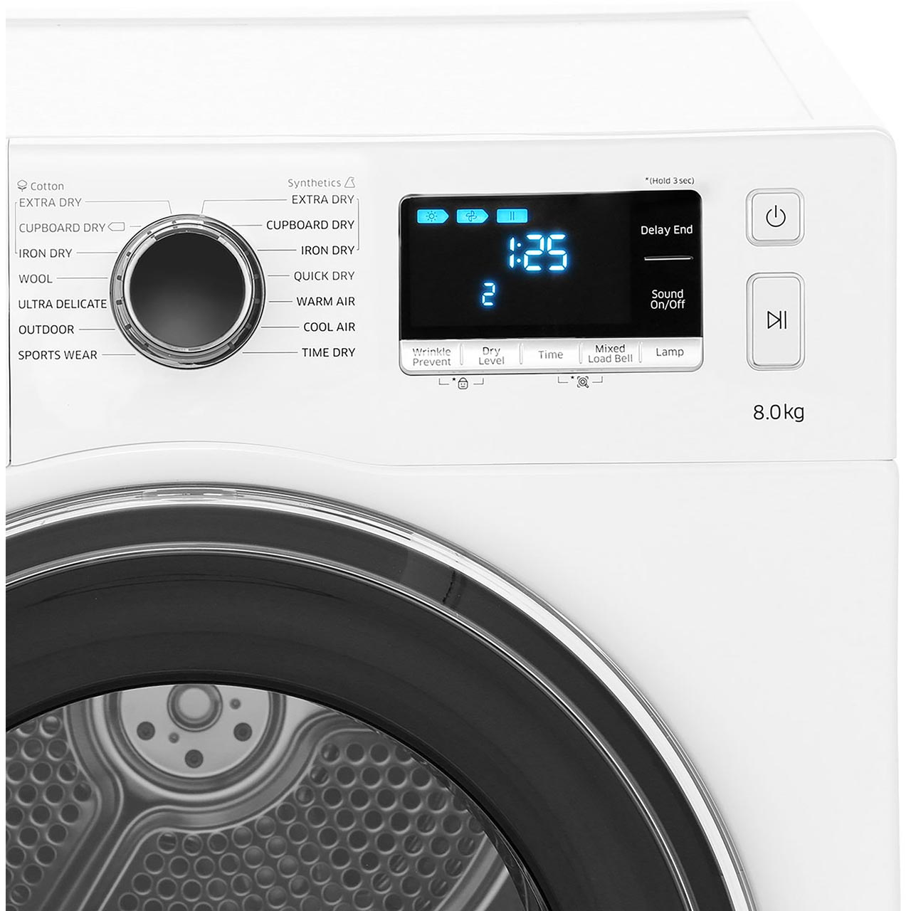 Samsung Dv80k6010cw A Heat Pump Tumble Dryer Condenser 8