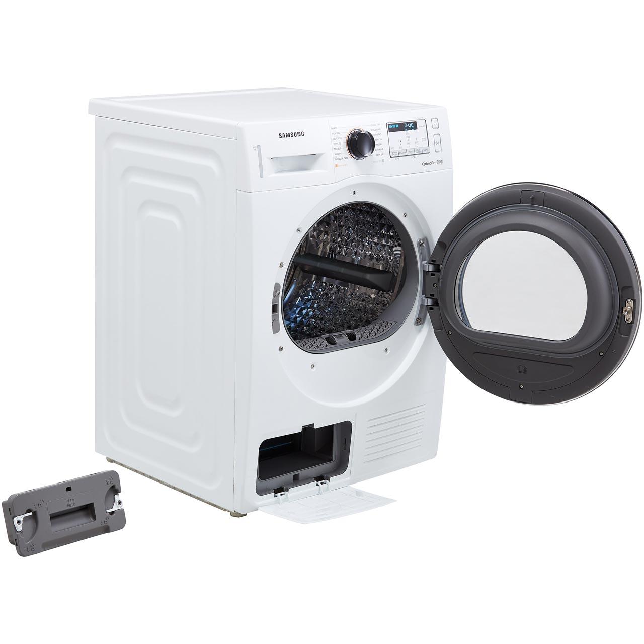 Samsung DV80M50133X 8Kg Heat Pump Tumble Dryer - Graphite - A++ Rated