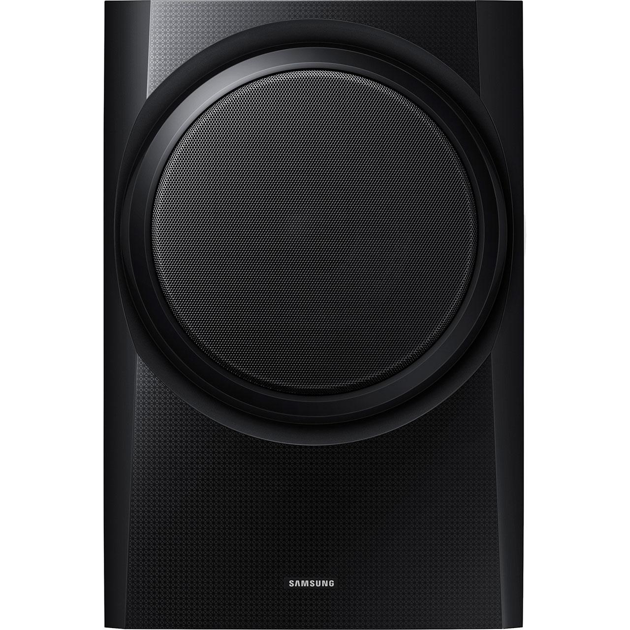 samsung hw k335 130 watt soundbar bluetooth with wired subwoofer black new ebay. Black Bedroom Furniture Sets. Home Design Ideas