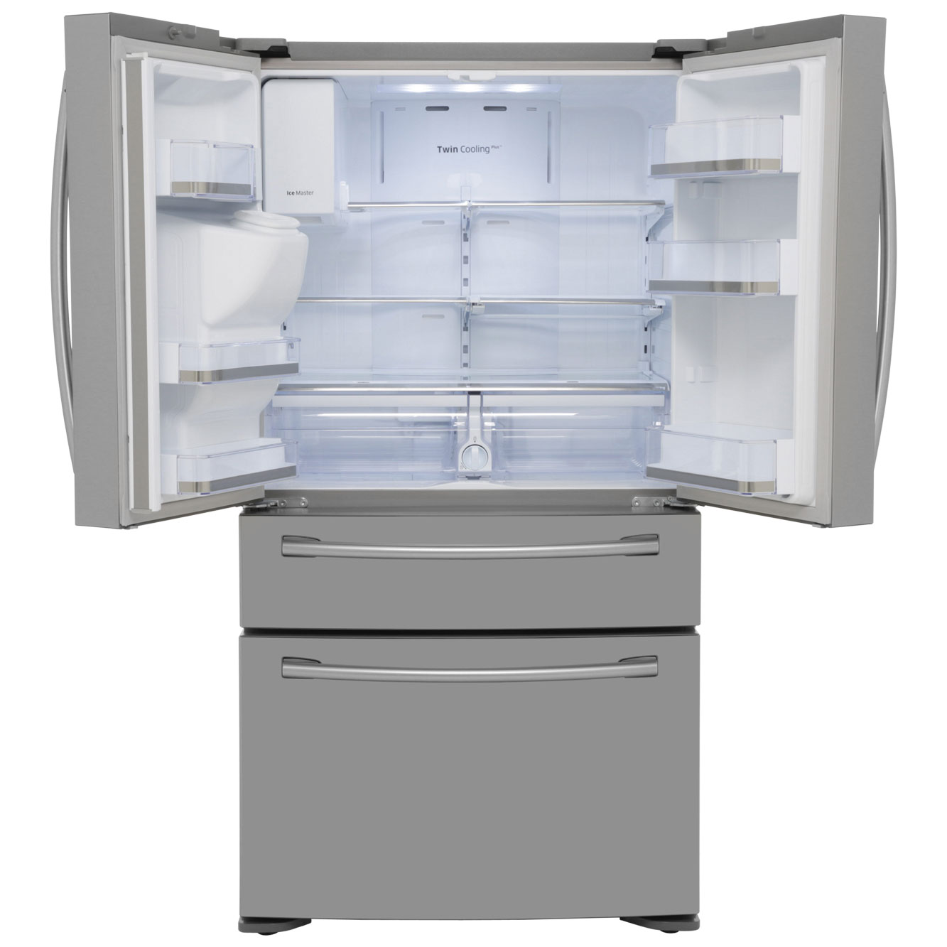 American Fridge Freezer With Drawers Part - 19: Samsung American Fridge Freezer | RF24FSEDBSR | Ao.com