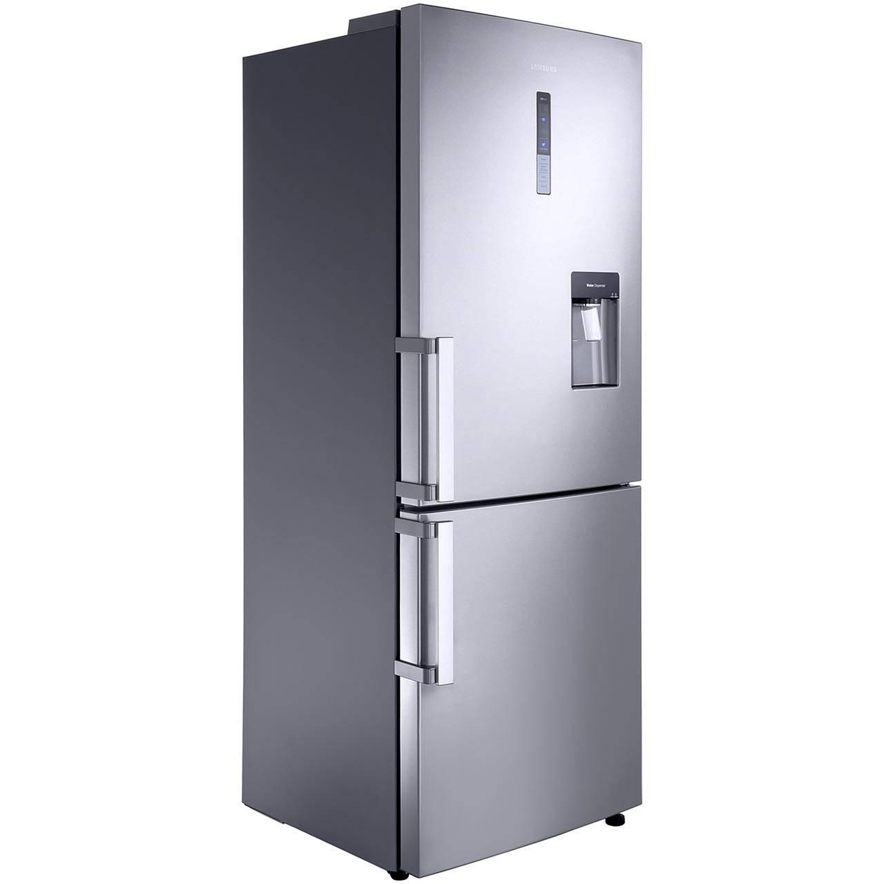Samsung GSeries RL4362FBASL Free Standing Fridge Freezer Frost Free in Clean Steel