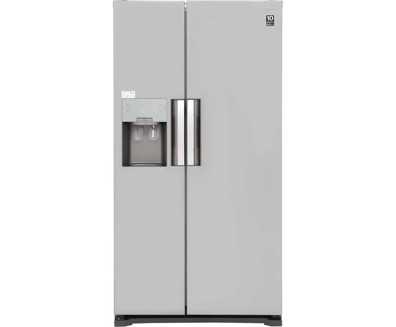 Samsung HSeries RS7667FHCSP Free Standing American Fridge Freezer in Platinum Inox