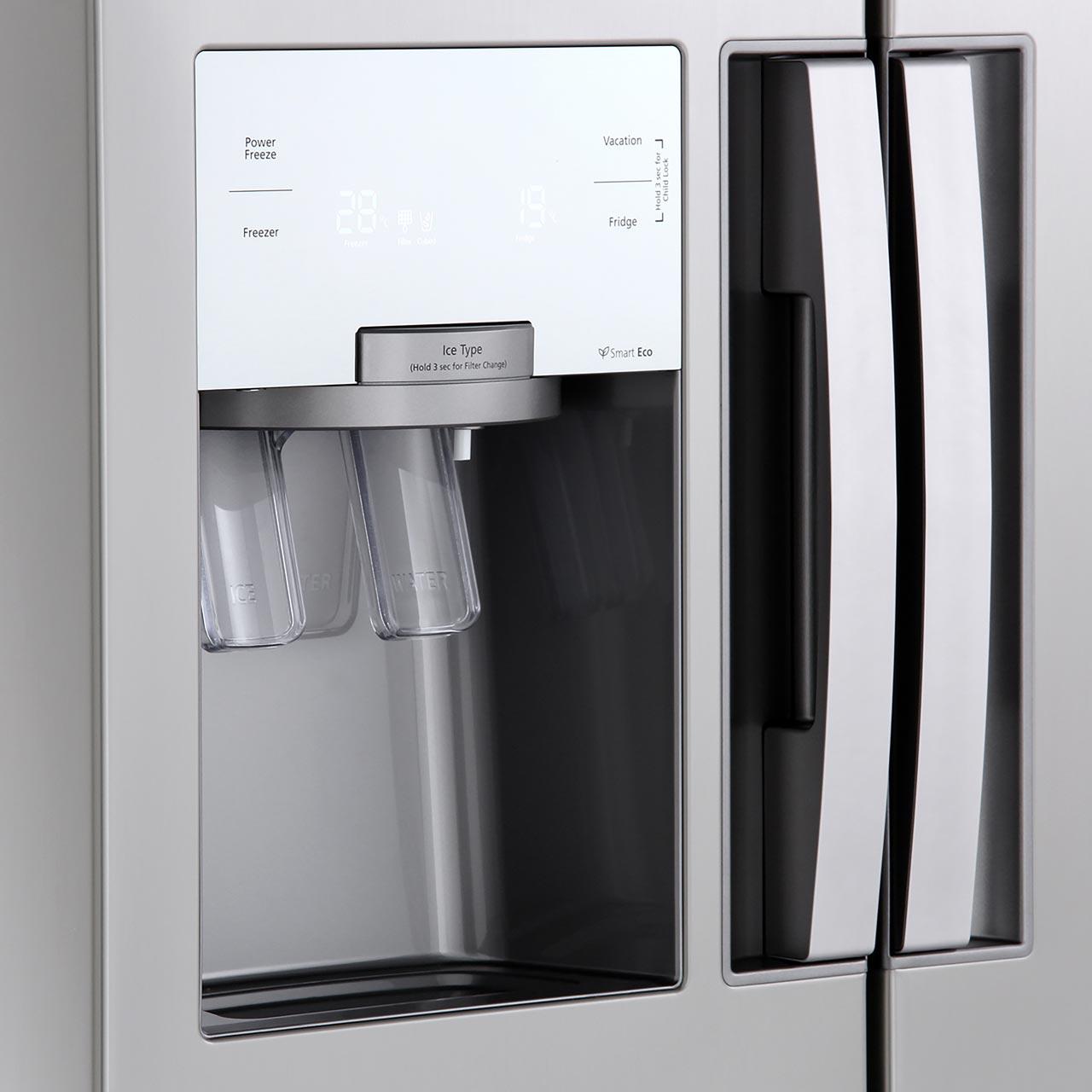 Steel Home Appliance Kitchen Equipment White Ice Cream Machine 43 39 91CM