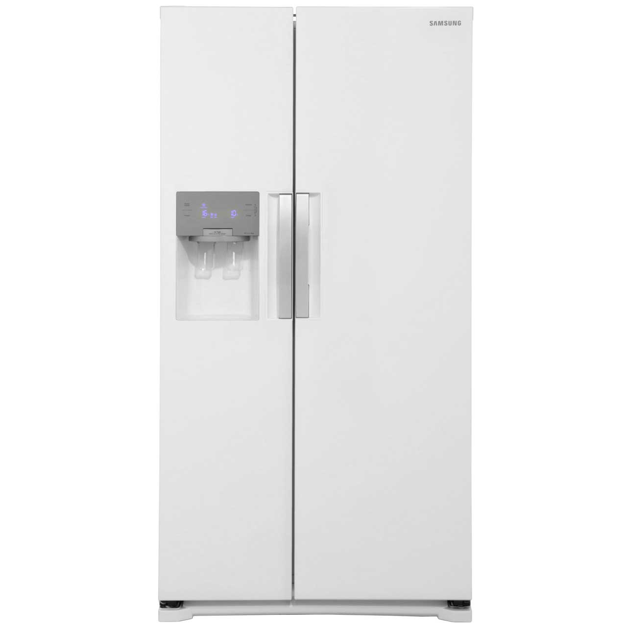 Samsung HSeries RS7667FHCWW Free Standing American Fridge Freezer in Gloss White