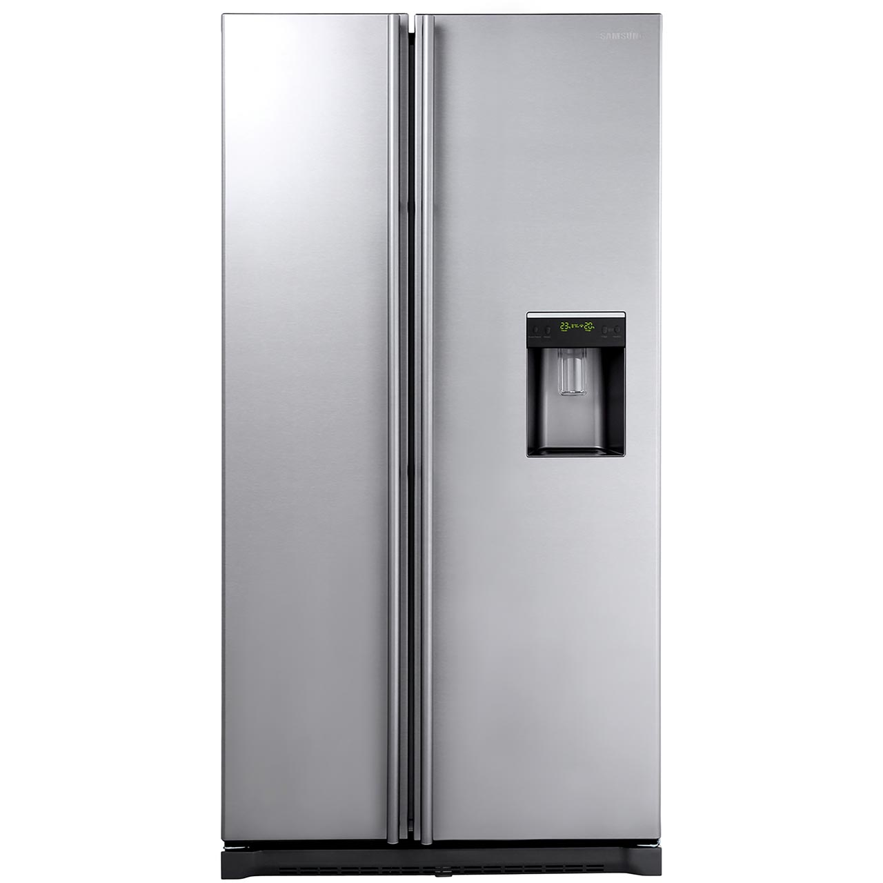 Samsung ASeries RSA1RTMG Free Standing American Fridge Freezer in Gun Metal