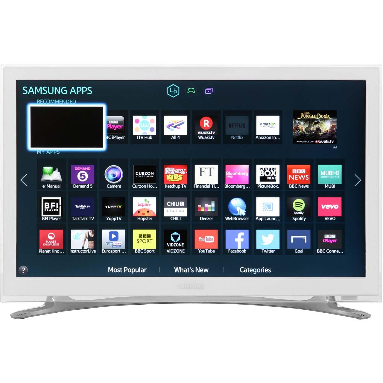 smart tv samsung ue22h5610 22 full hd led weiss ebay. Black Bedroom Furniture Sets. Home Design Ideas