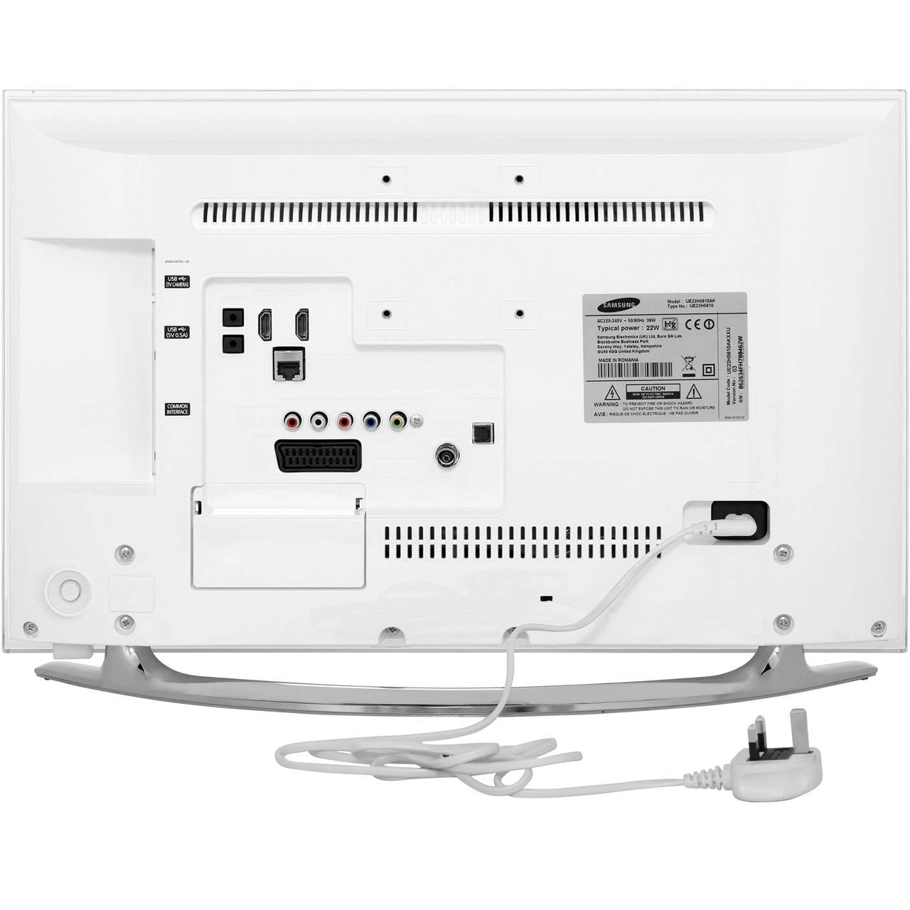 Samsung UE22H5610 22 Inch Smart LED TV 1080p Full HD