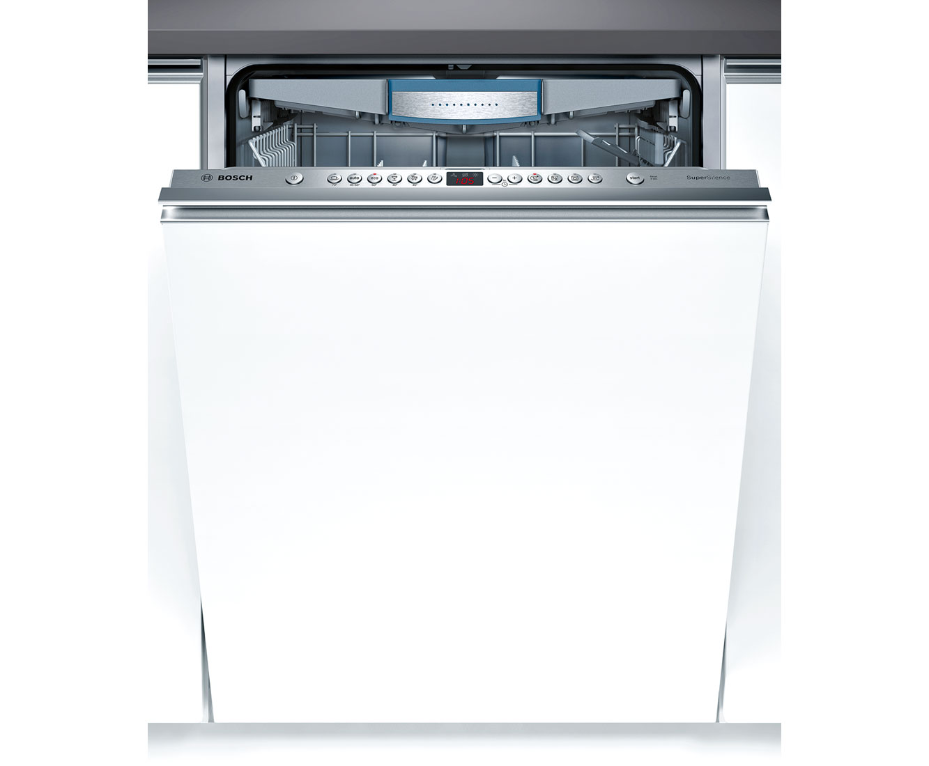 Bosch Serie 6 SBV69M00GB Integrated Dishwasher in Brushed Steel