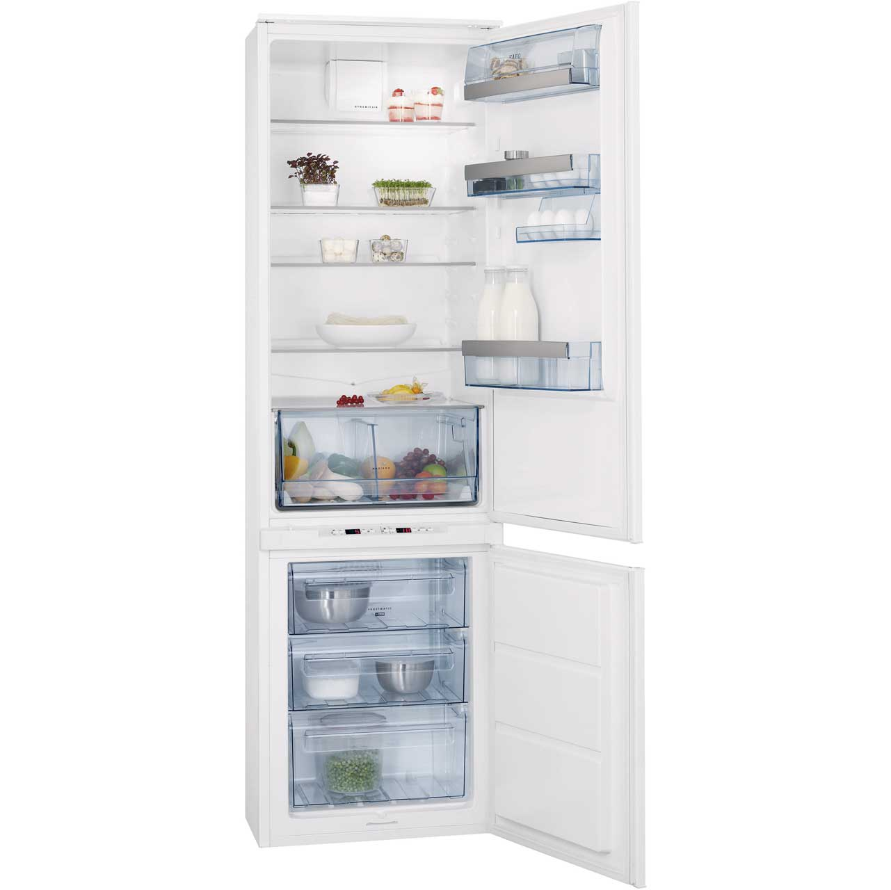 AEG SCT71906S0 Integrated Fridge Freezer Frost Free in White