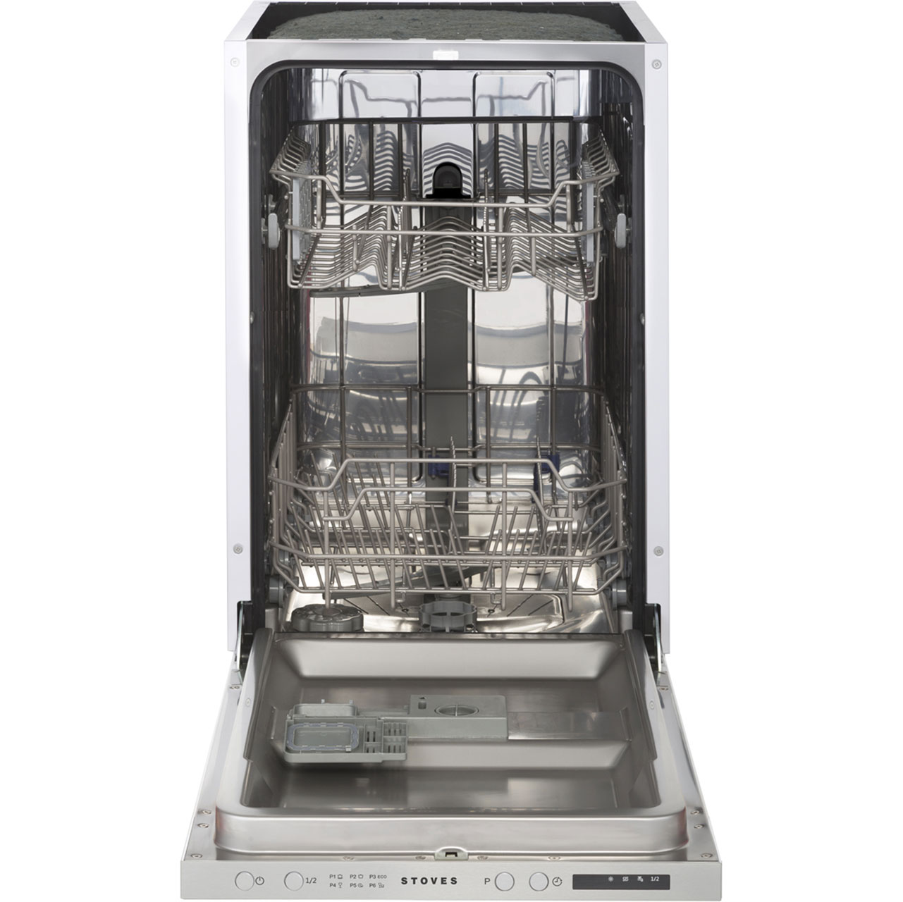Image of Stoves SDW45 Integrated Slimline Dishwasher in Silver