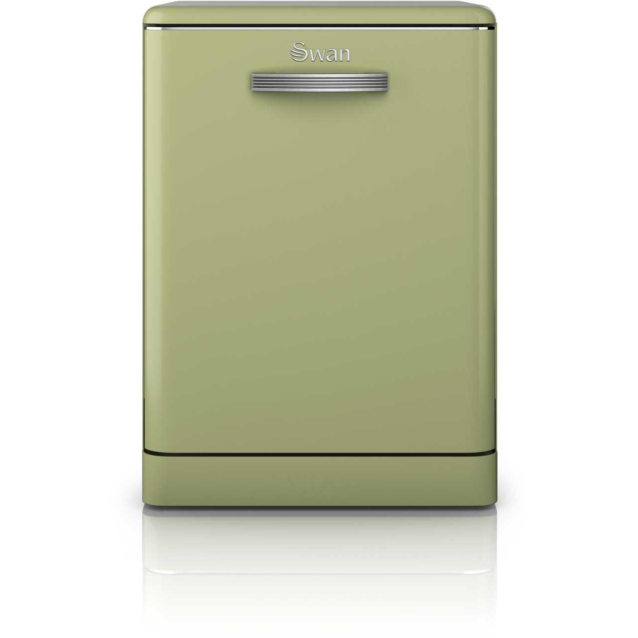 Retro slimline dishwasher