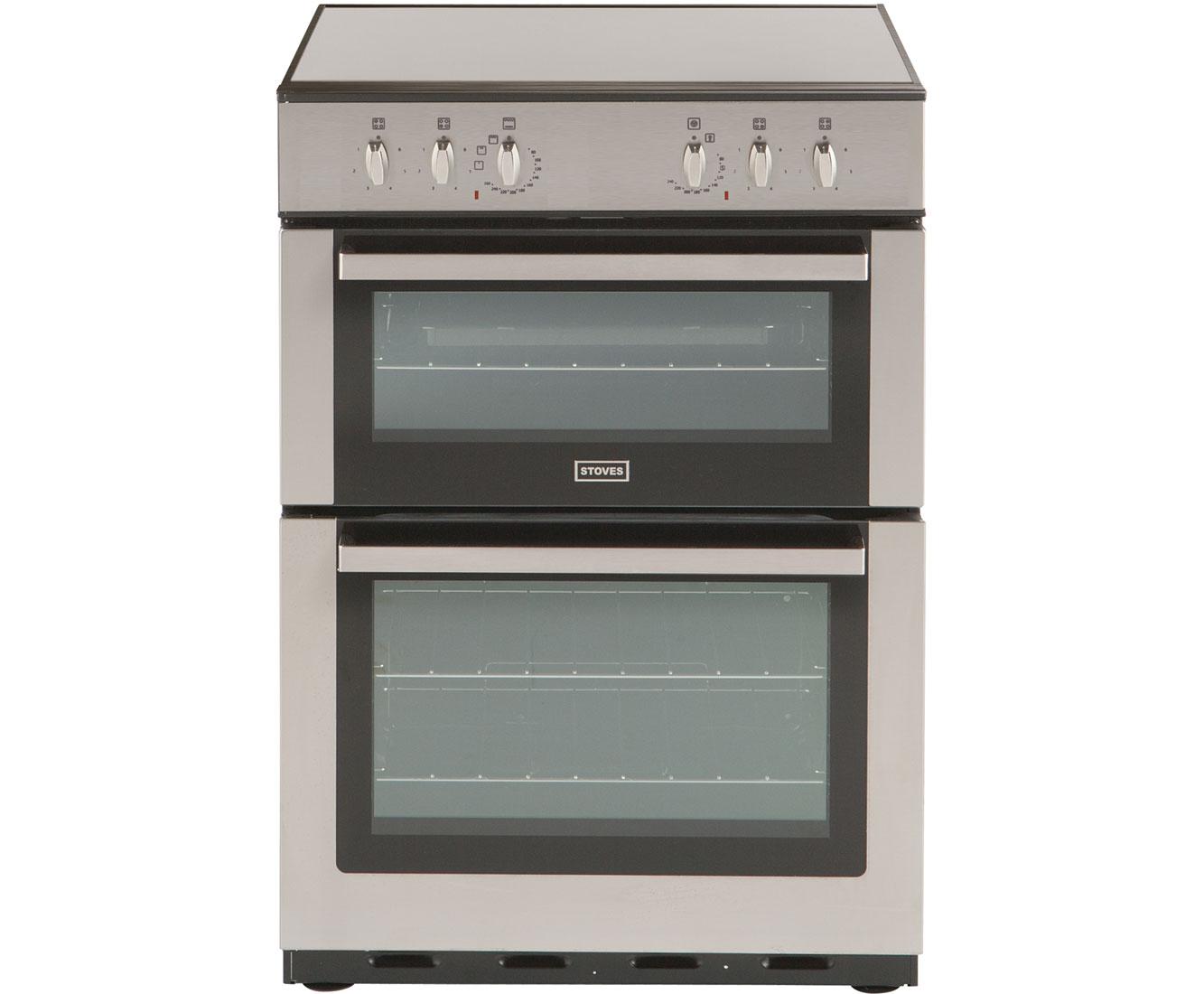 stoves sec60do electric cooker with ceramic hob. Black Bedroom Furniture Sets. Home Design Ideas