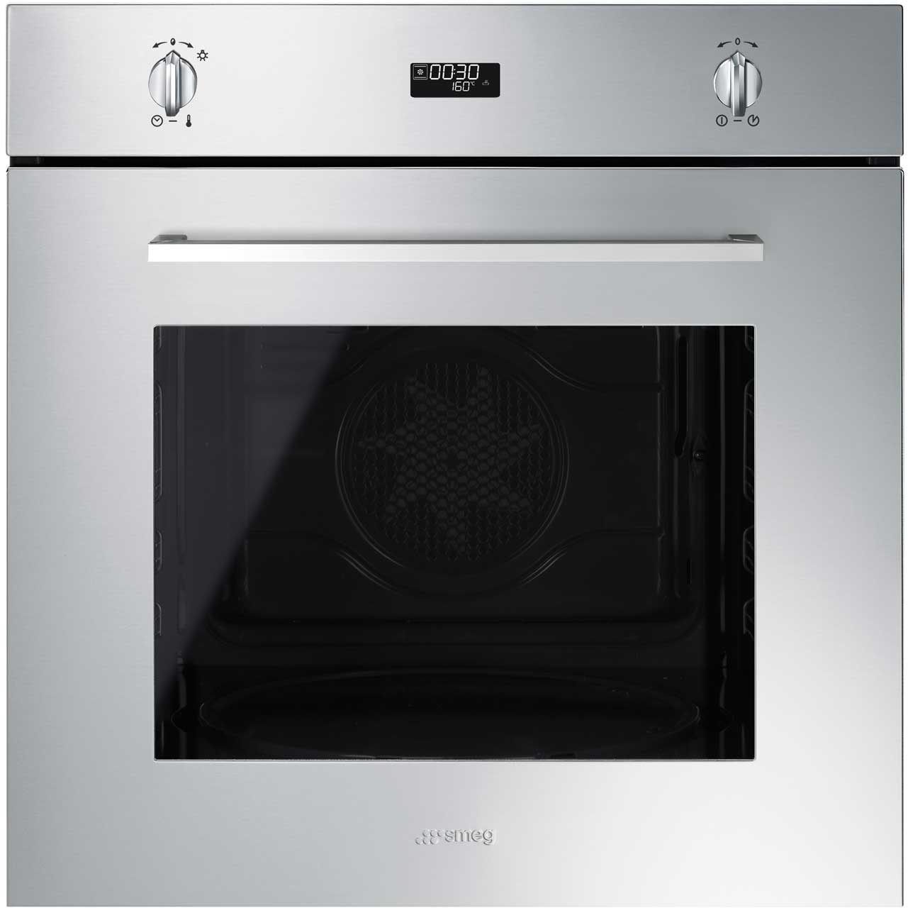 Smeg Cucina SF485X Built In Electric Single Oven - Stainless Steel