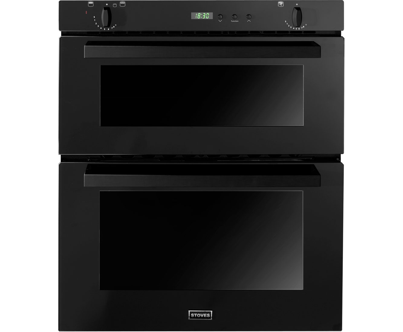 Details About Stoves SGB700PS Built Under 60cm B A Gas Double Oven Black New From AO