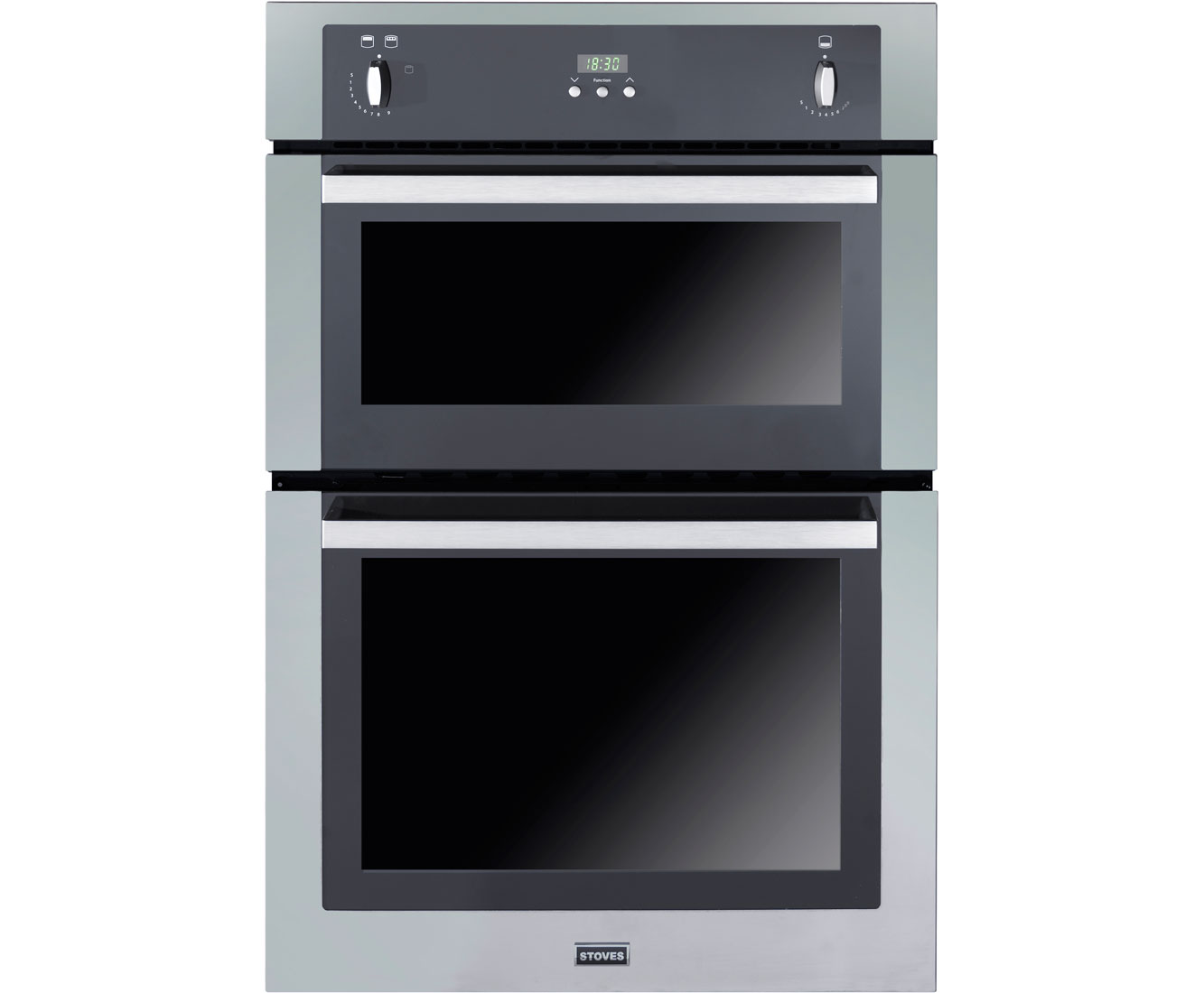 Stoves SGB900PS Built In Double Oven - Stainless Steel