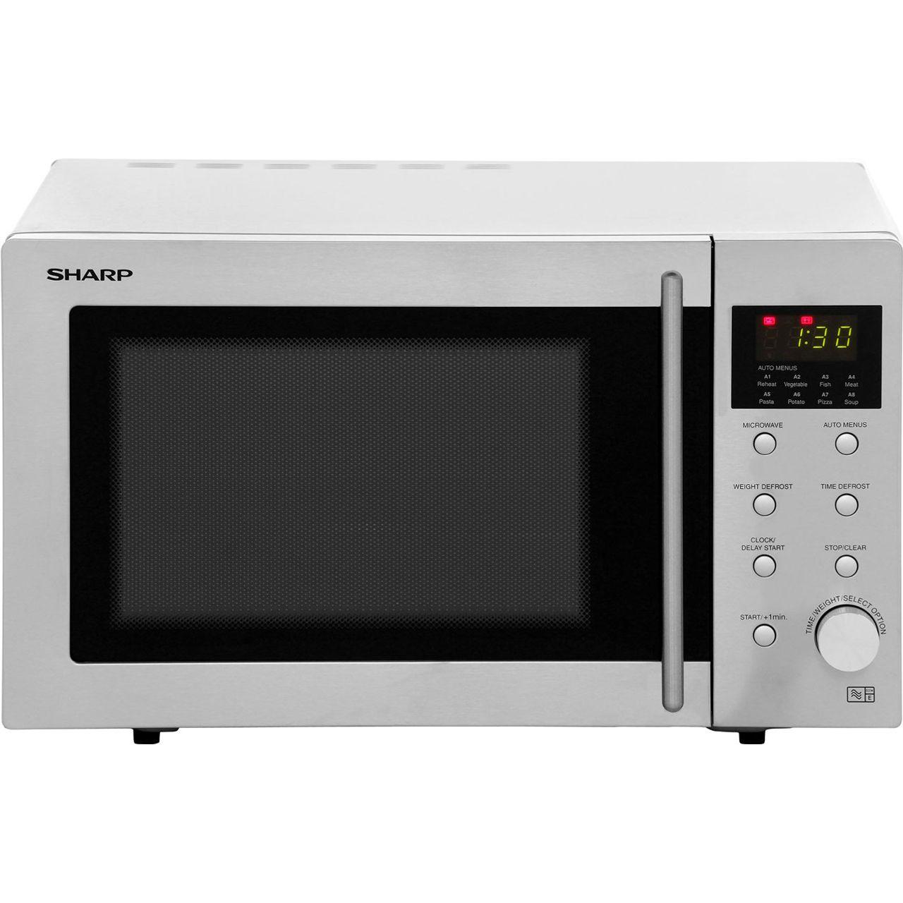sharp microwave r28stm 800 watt microwave free standing. Black Bedroom Furniture Sets. Home Design Ideas