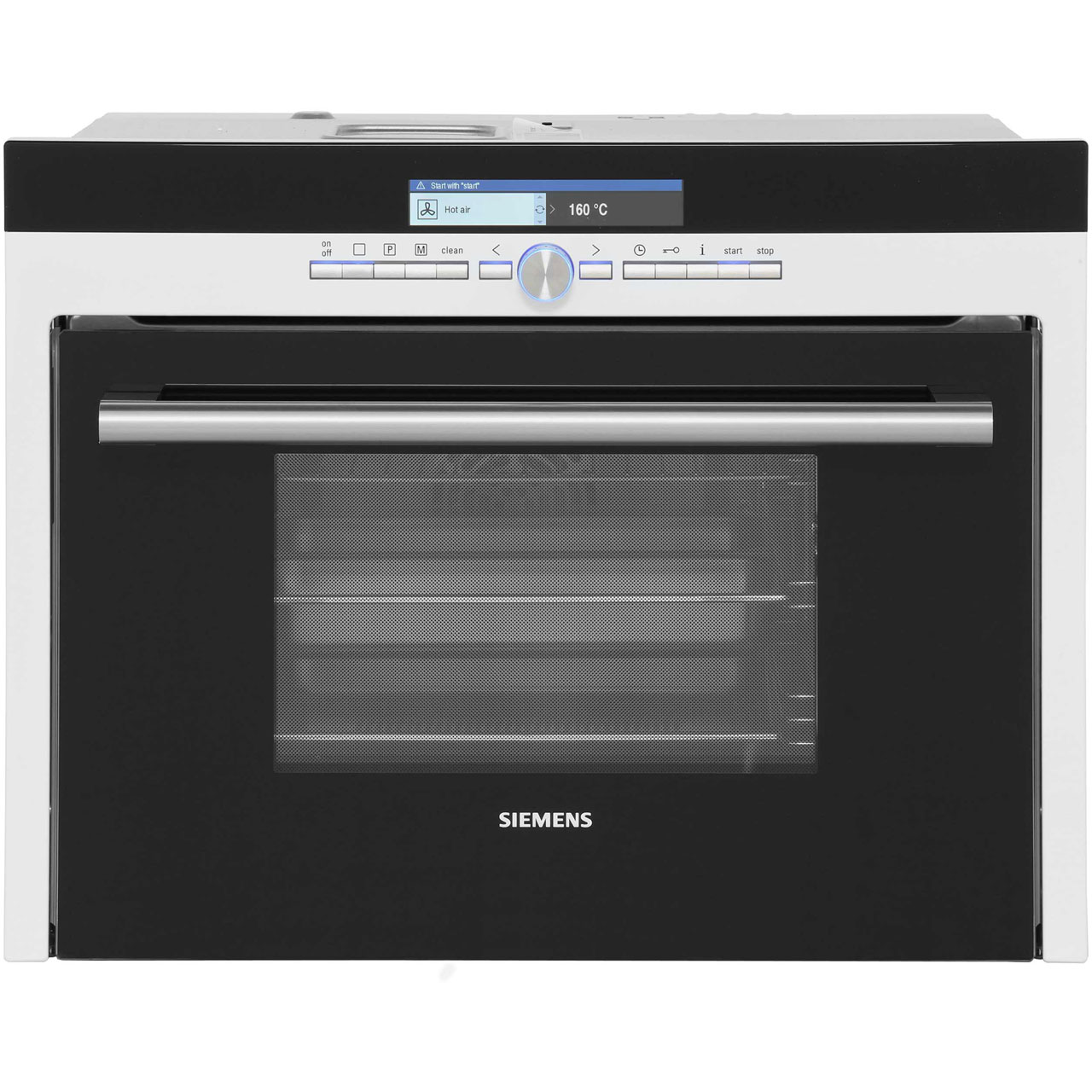 Siemens Iq 700 Hb36d275b Built In Compact Steam Oven White