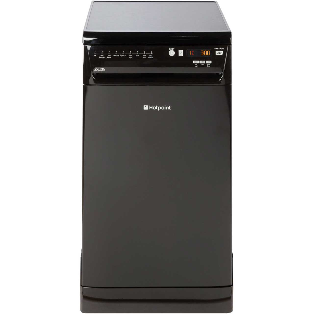 buy cheap hotpoint slimline dishwasher compare. Black Bedroom Furniture Sets. Home Design Ideas