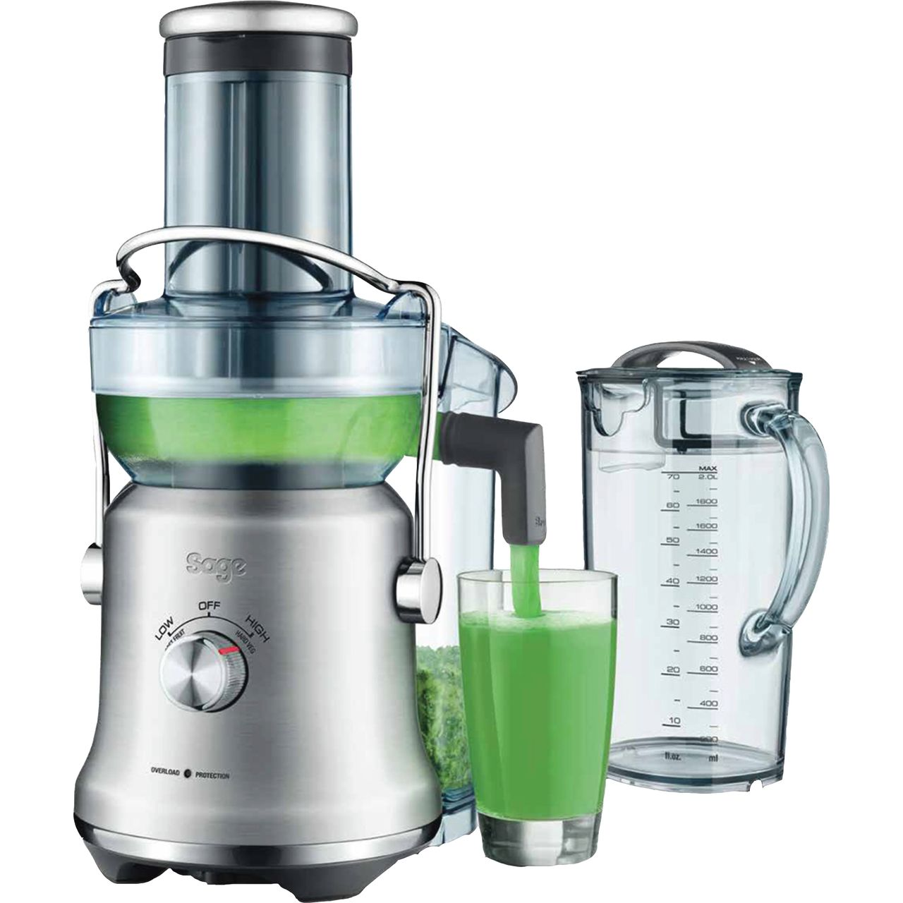 Sage The Nutri Juicer XL SJE830BSS Centrifugal Juicer Brushed Stainless Steel