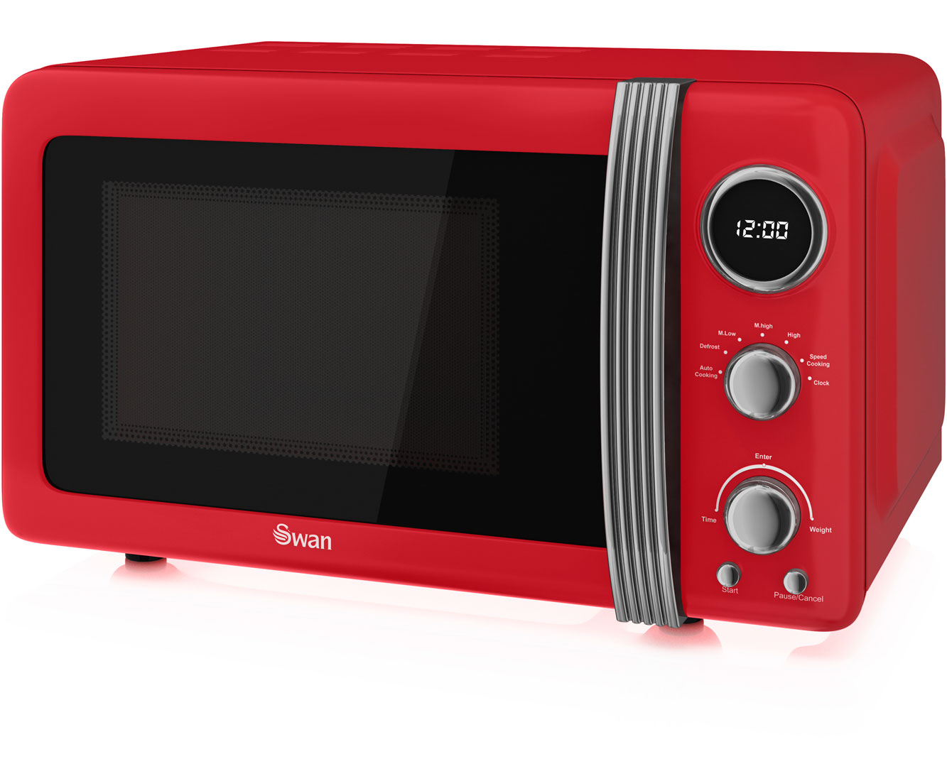 Swan Retro SM22030RN 20 Litre Microwave - Red