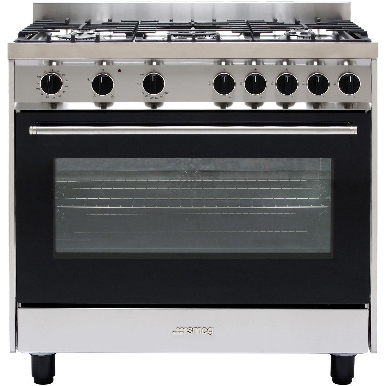 B90GVXI9_BSS | Smeg Range Cooker | ao.com