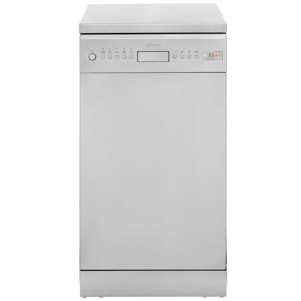 Smeg D4SS1 Free Standing Slimline Dishwasher in Stainless Steel