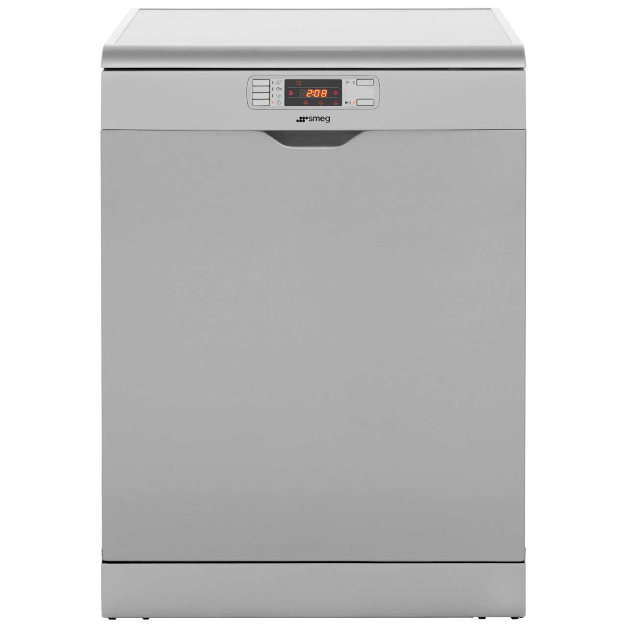 Smeg DC134LSS Standard Dishwasher - Silver / Stainless Steel