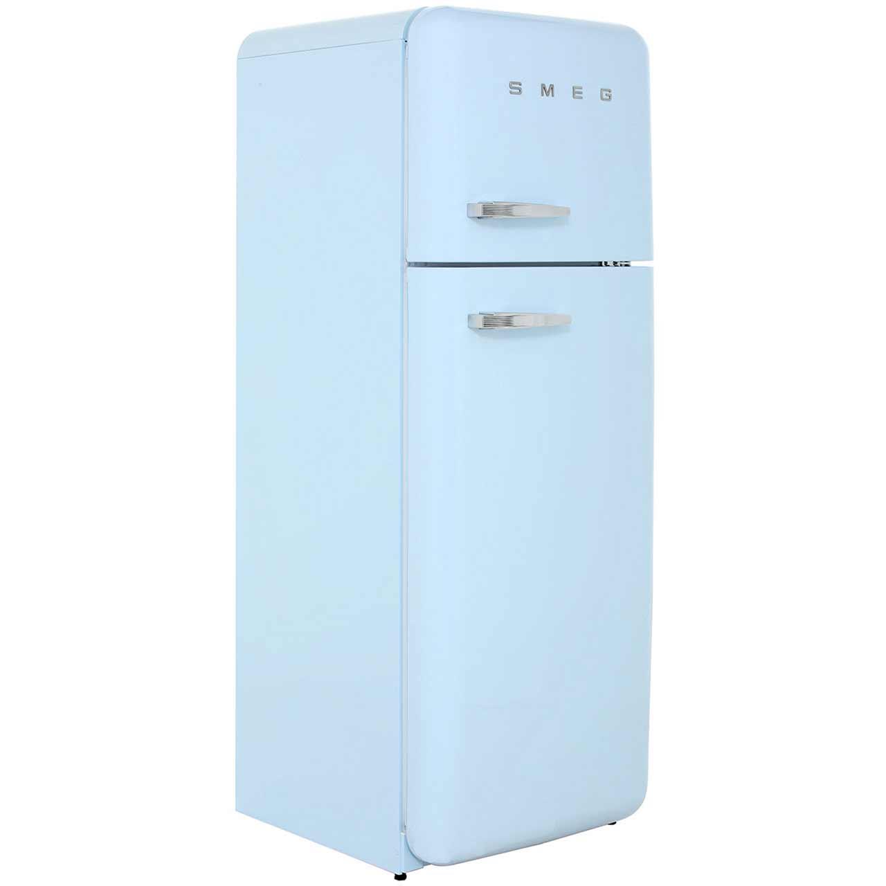 Smeg right hand hinge fab30rfa 70 30 fridge freezer pastel blue - Choosing right freezer ...
