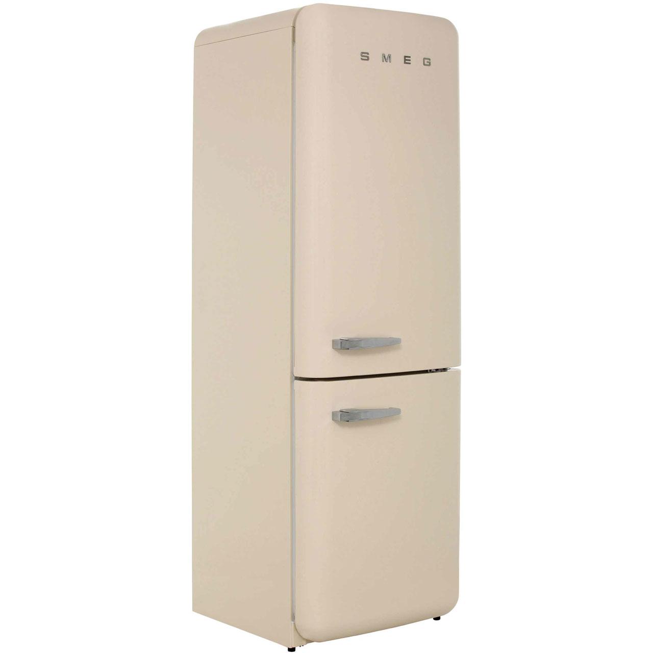 Smeg Right Hand Hinge FAB32RNC Free Standing Fridge Freezer Frost Free in Cream