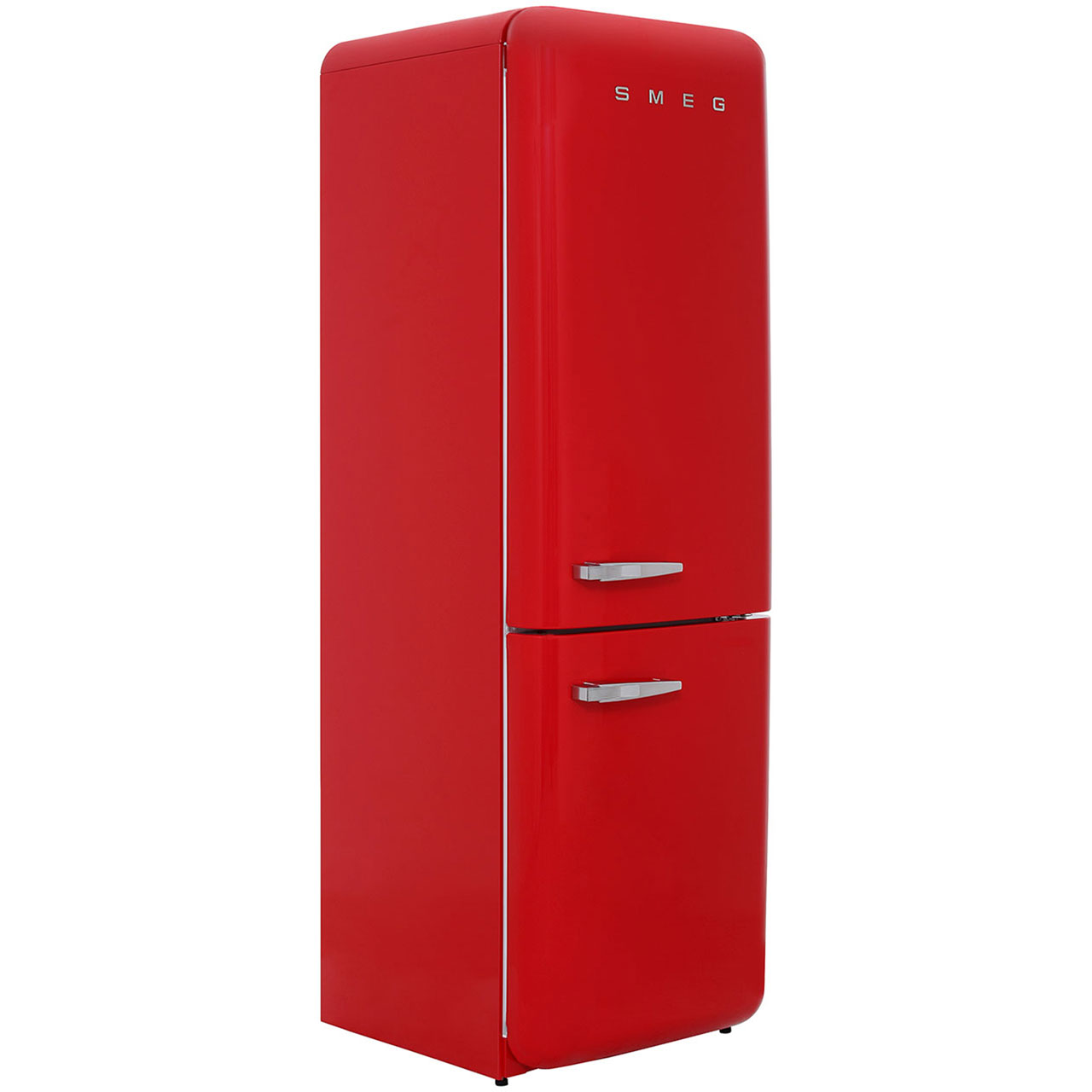 Smeg Right Hand Hinge FAB32RNR Free Standing Fridge Freezer Frost Free in Red
