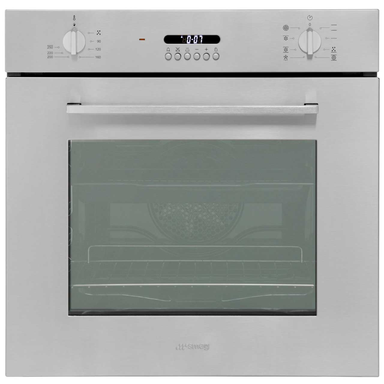 Smeg Cucina SF478X Built In Electric Single Oven - Stainless Steel ...