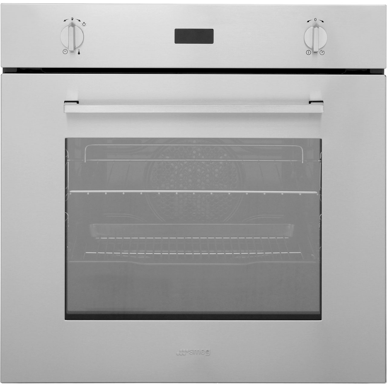 sf485x ss smeg built in electric single oven ao com rh ao com Cream Smeg Oven Smeg Oven Dial
