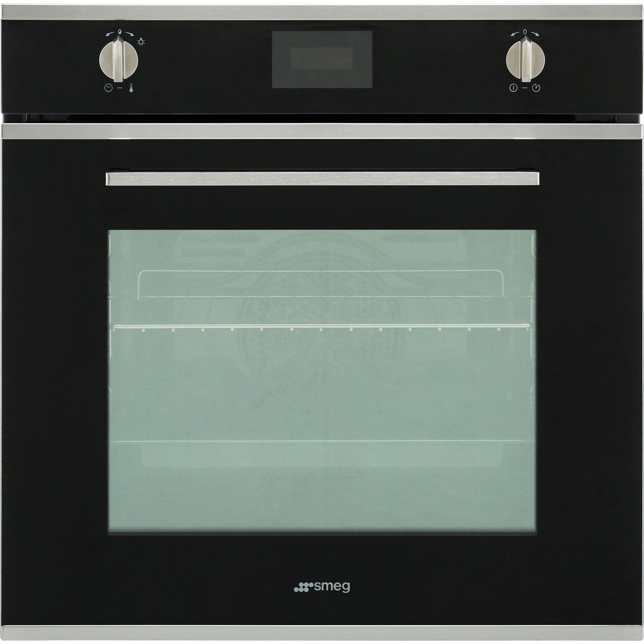 SFP6401TVN_BK | Smeg Electric Single Oven | Black | ao.com