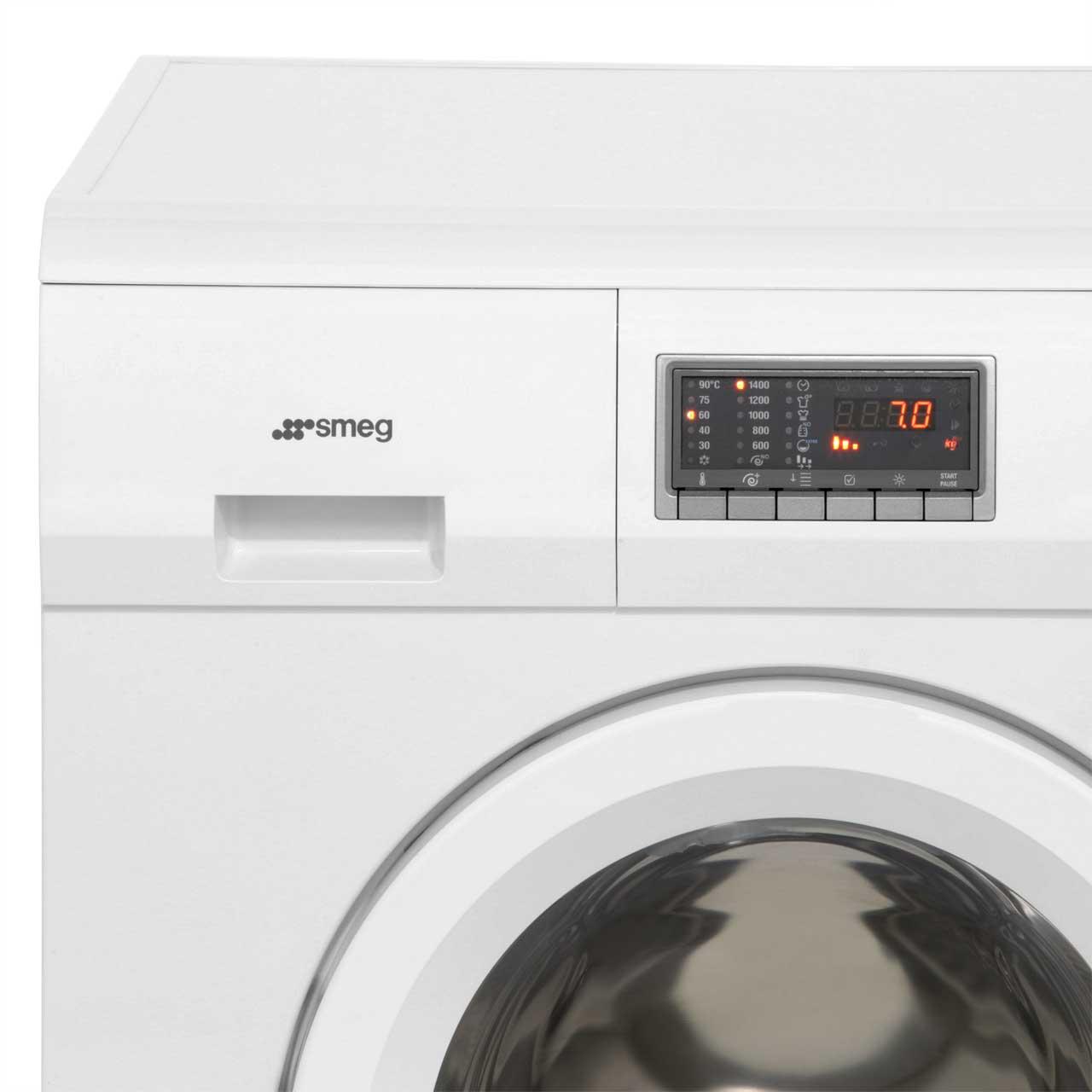smeg 7kg 4kg washer dryer wdf14c7 quick wash ao com