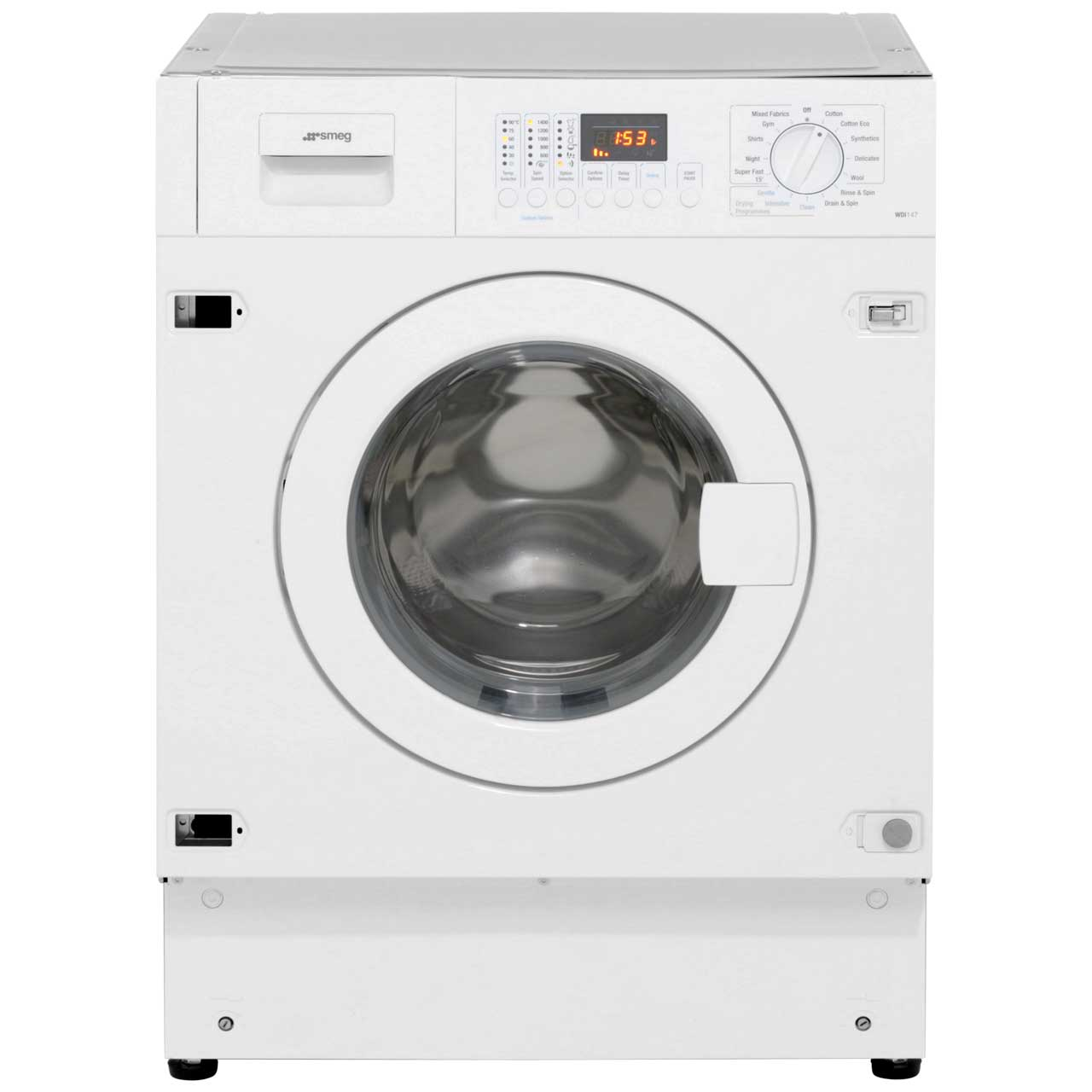 Smeg WDI147 Integrated 7Kg / 4Kg Washer Dryer with 1400 rpm