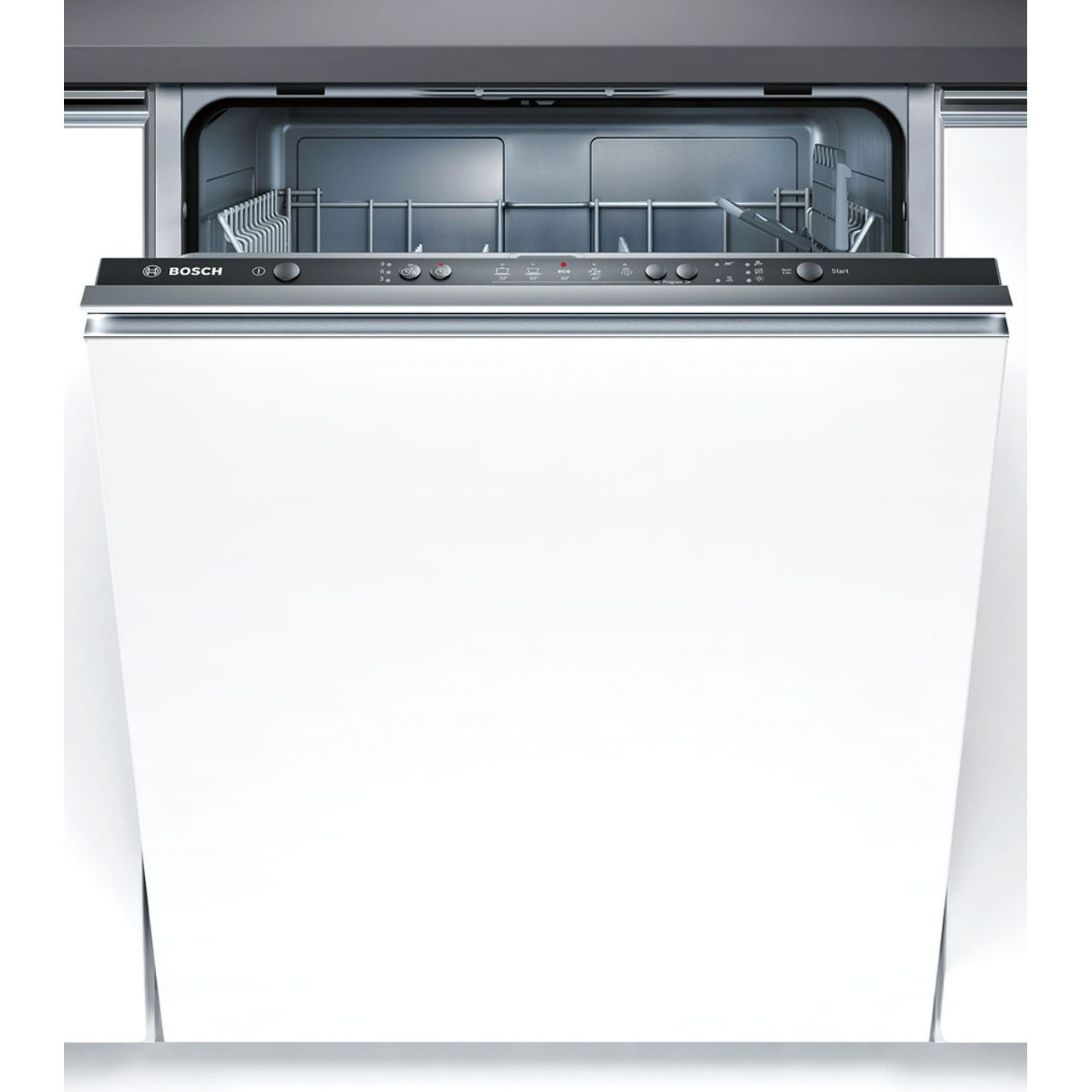 Bosch Serie 4 SMV50C10GB Integrated Dishwasher in Black