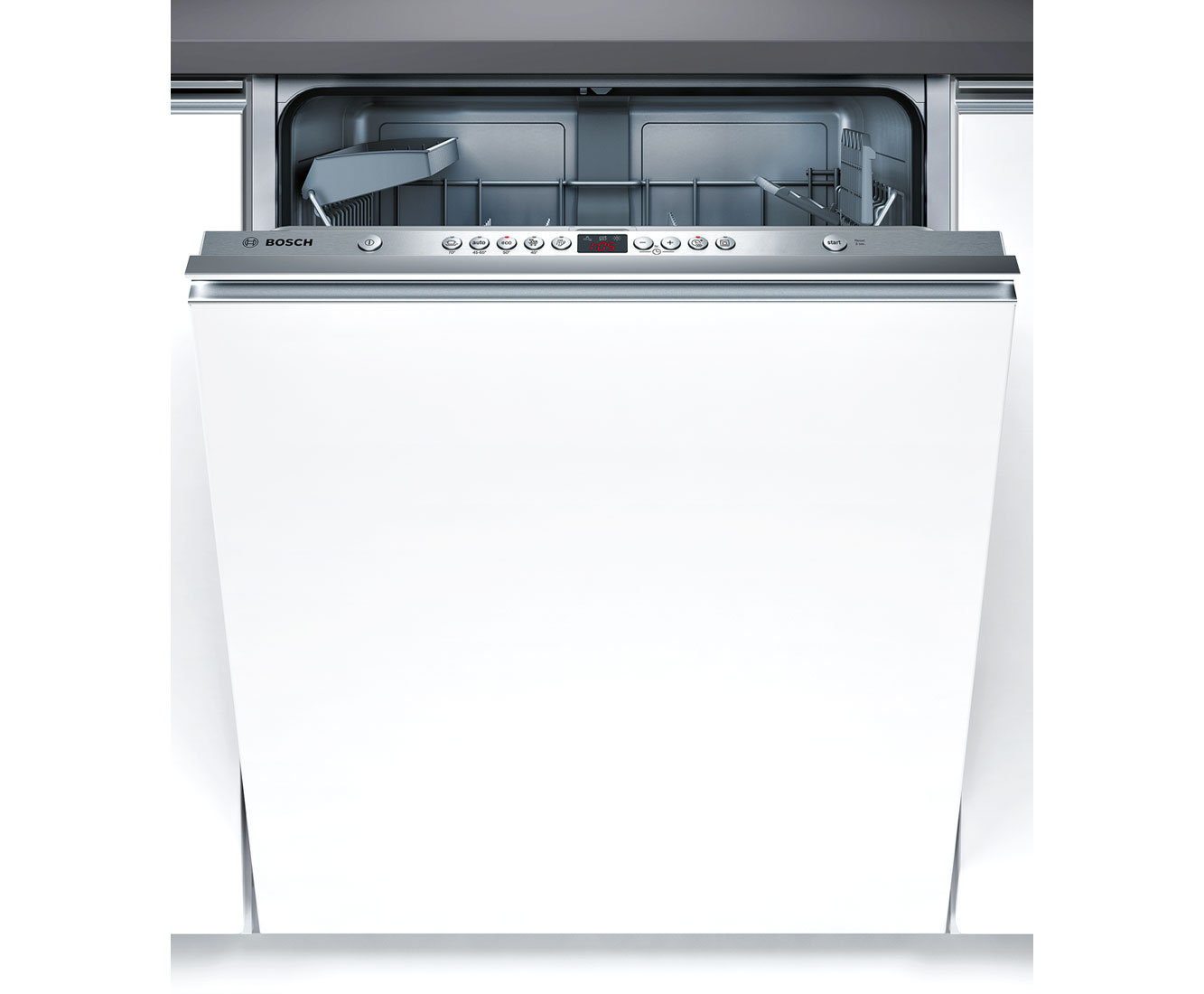 Bosch Serie 6 SMV53M10GB Integrated Dishwasher in Brushed Steel