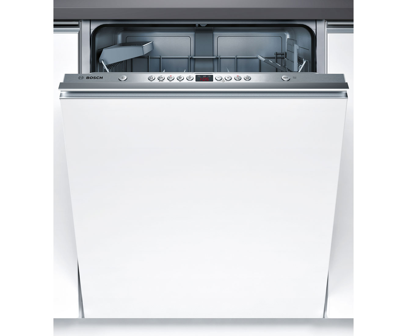 Bosch Serie 6 SMV53M50GB Integrated Dishwasher in Stainless Steel