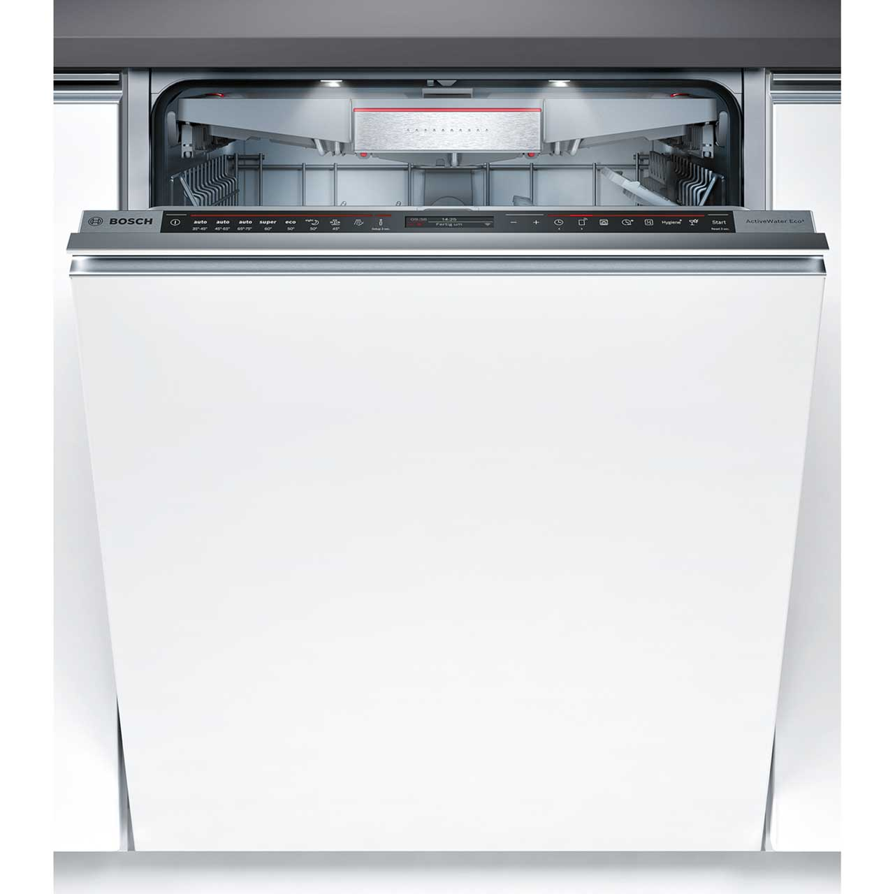 Bosch Serie 8 SMV88TX26E Integrated Dishwasher in Black