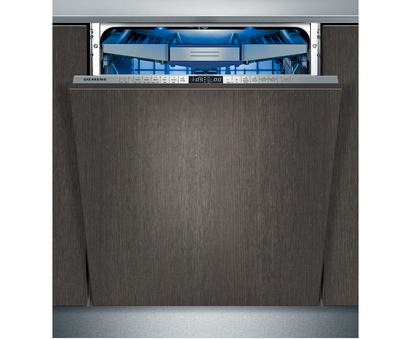 Siemens SN66T197GB Fully Integrated Standard Dishwasher - Stainless Steel