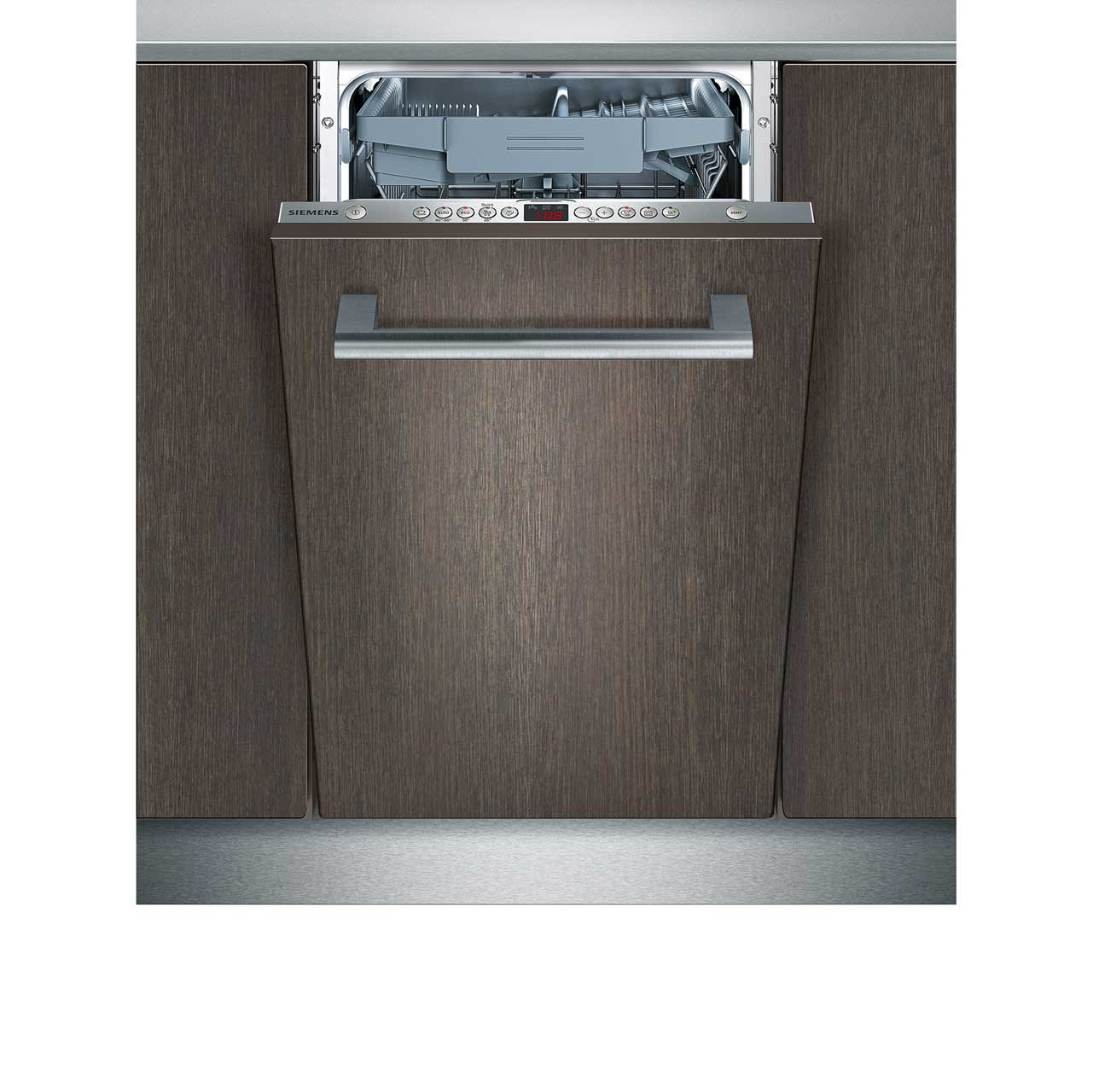Siemens IQ500 SR65T081GB Integrated Slimline Dishwasher in Stainless Steel