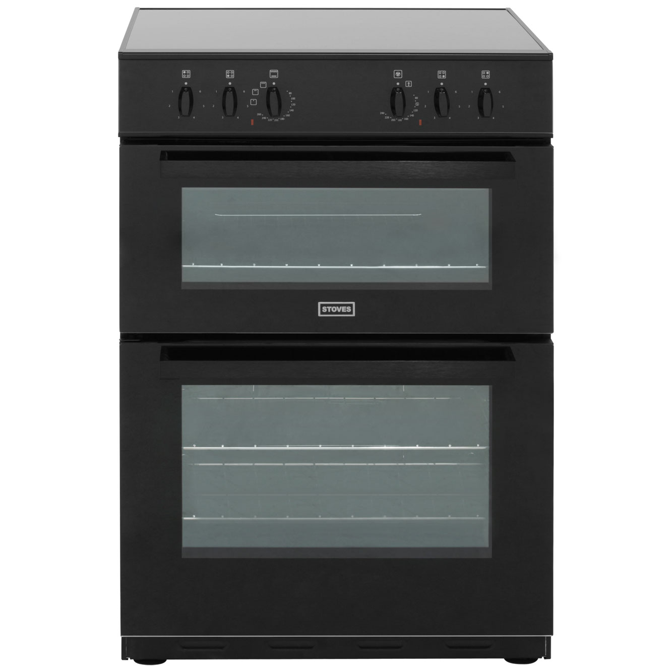 Electric Cooker Stove : Stoves SEC60DO Electric Cooker with Ceramic Hob - Black  ao.com