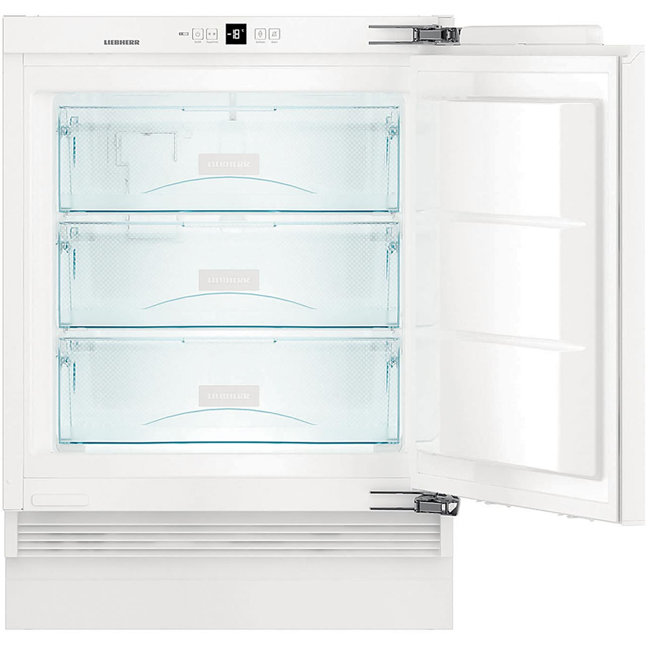Liebherr SUIG1514 Integrated Under Counter Freezer with Fixed Door Fixing  Kit - A++ Rated