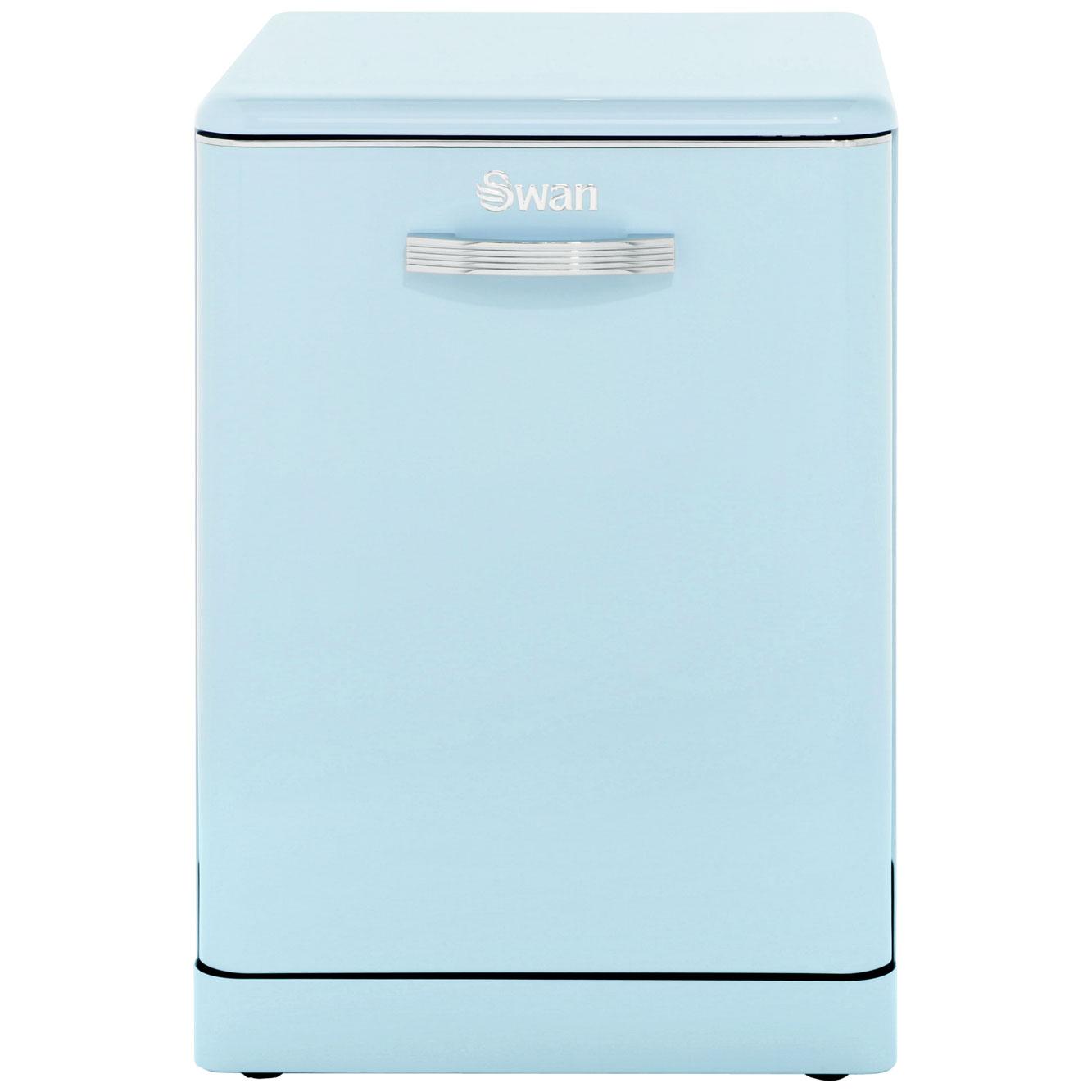SDW7040BLN_BL | Swan dishwasher | Blue | A+ rating | ao.com