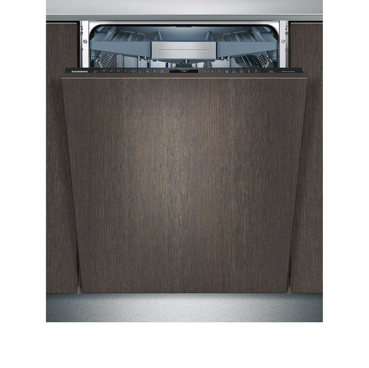 Siemens IQ700 Extra Height SX778D00TG Integrated Dishwasher in Black