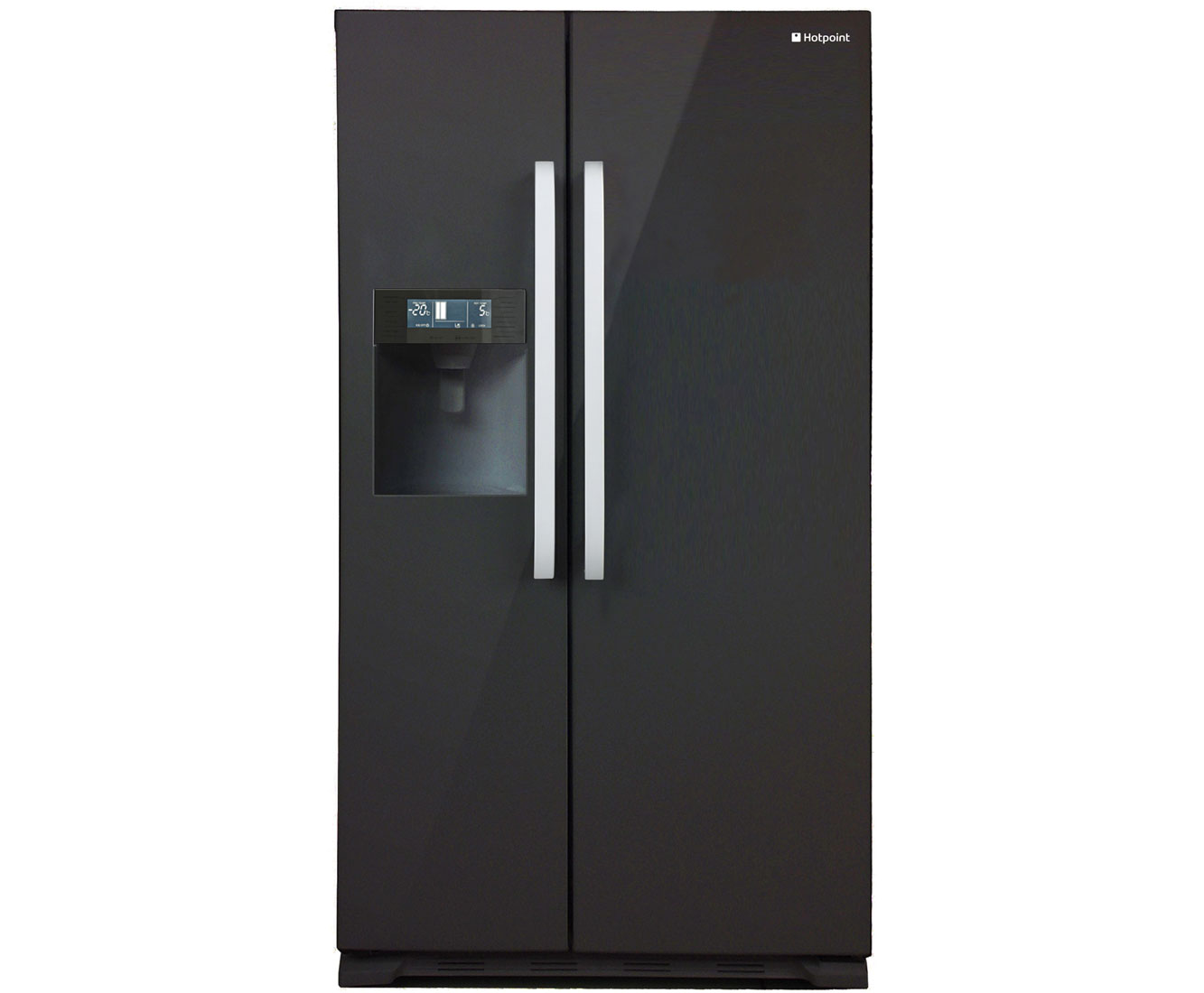 Hotpoint SXBD925FWD American Fridge Freezer - Black Gloss