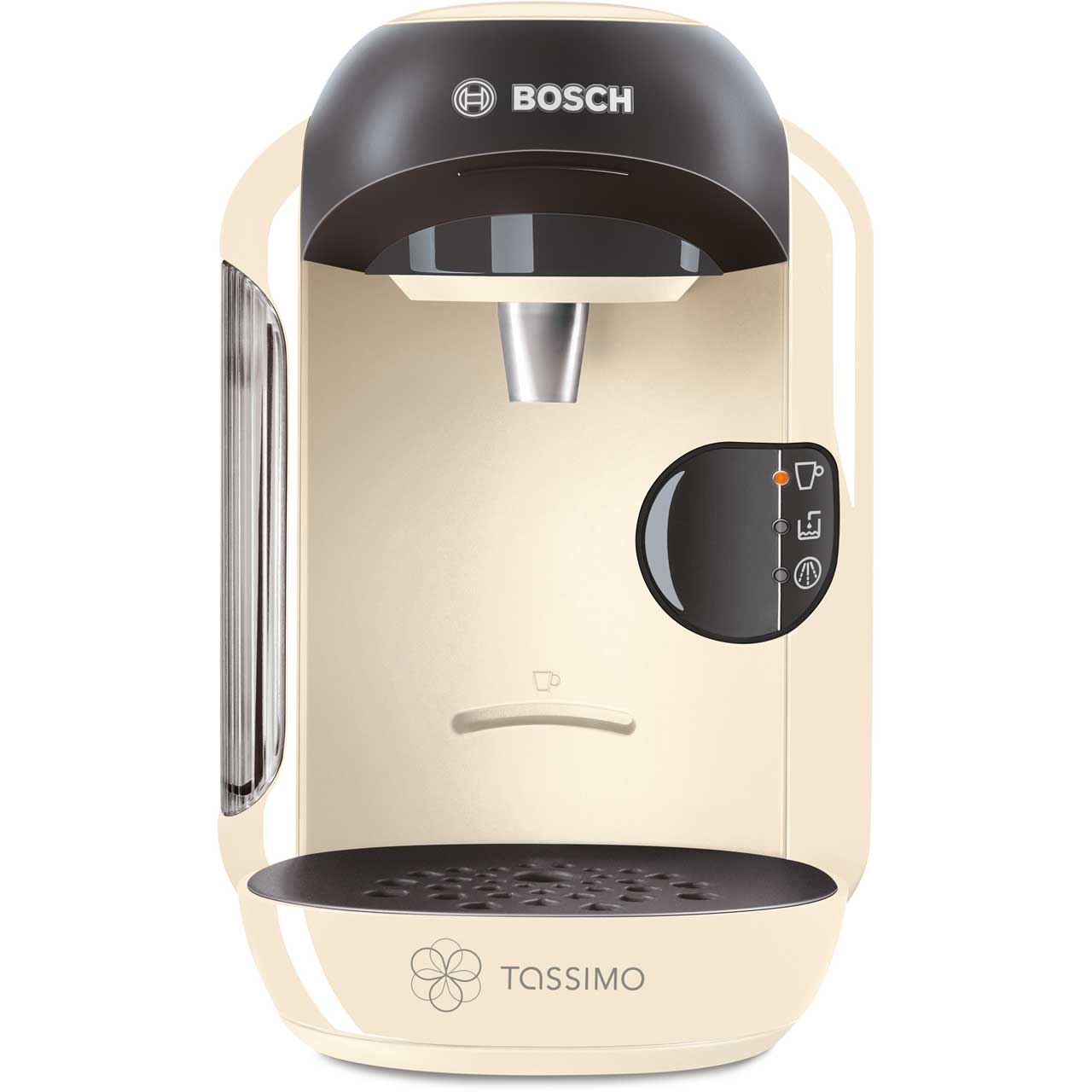 Electronic Pods For Tassimo Coffee Machine bosch tassimo vivy ii tas1257gb pod coffee machine cream