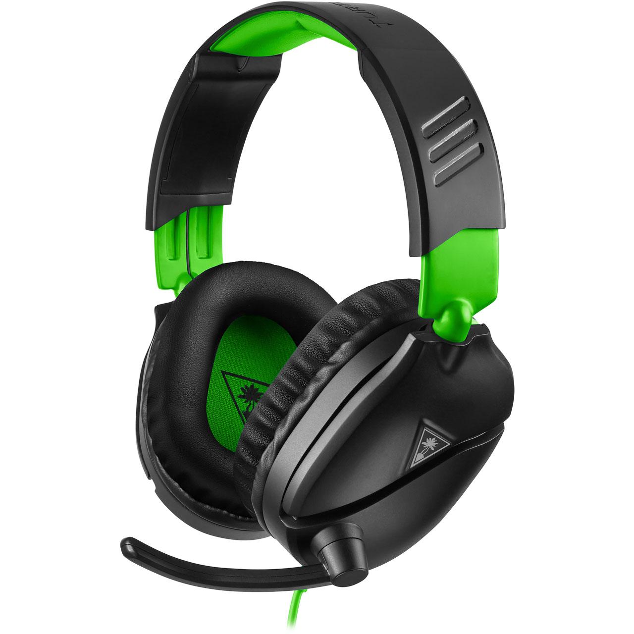 Turtle Beach Recon 70X Gaming Headset - Black / Green