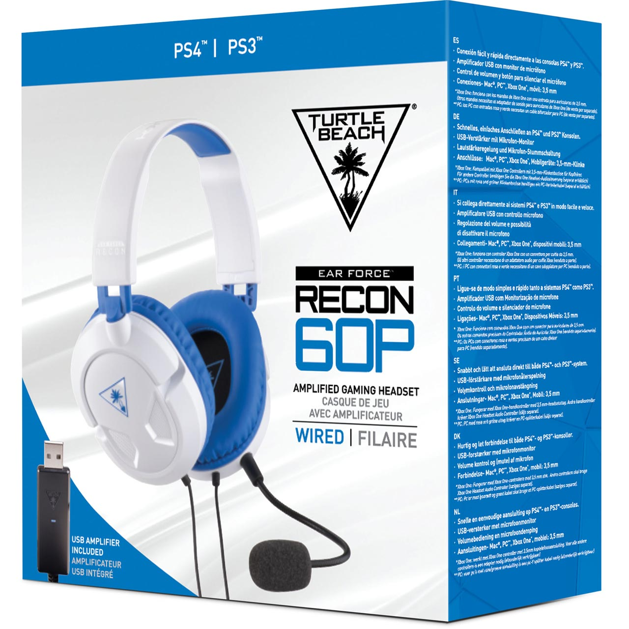 TBS-3309-01 | Turtle Beach headset | PS3 & 4 | ao.com