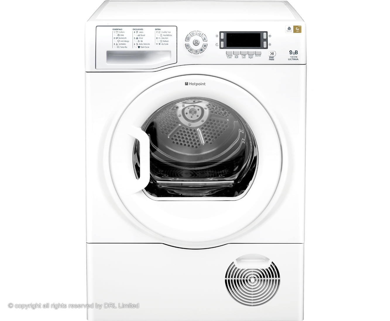 Hotpoint Ultima TCUD97B6P Condenser Tumble Dryer - White